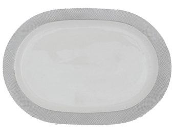 Oval Serving Platter by Block Spal, Portugal