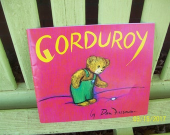 Corduroy by Don Freeman, Paperback Scholastic Edition