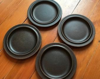 Four Ulla Procope Ruska Bread Plate Arabia Finland