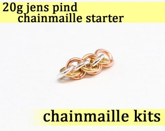 20 gauge Jens Pind Chainmaille Starter 20g