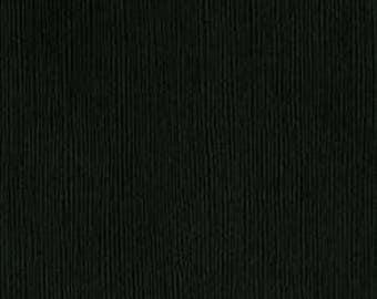 8.5 x 11 Bazzill Cardstock - Blackbird