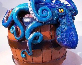 Octopus yarn bowl.