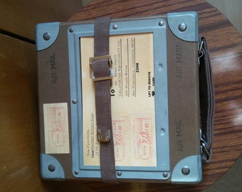 US Air Mail Case with Film 1966