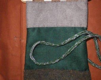 viking handbag hand sewn