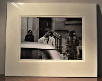 photographic prints, mounted