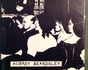 Vintage Aubrey Beardsley hard cover art book 1967 United Book Guild dust jacket