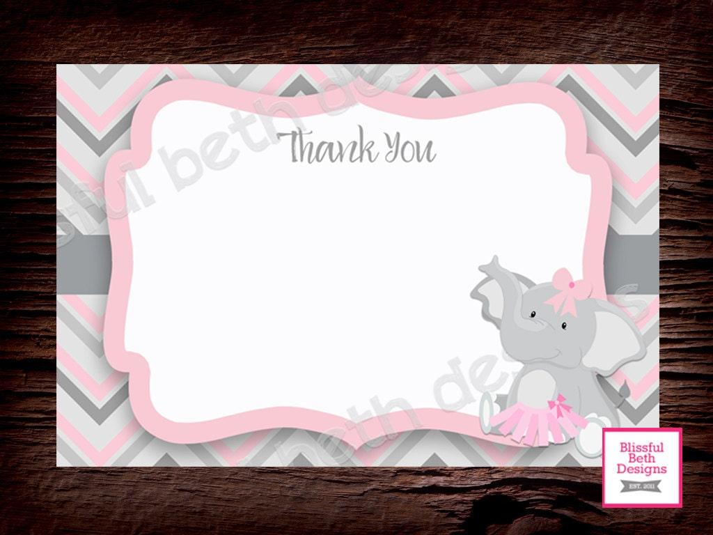 TUTU BIRTHDAY PARTY, Elephant TuTu Birthday Invitation, Second ...