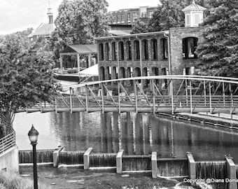 Greenville SC, Greenville SC Wall Art, Black and White Photography, Greenville Gifts, South Carolina Art, Greenville SC Prints, Greenville