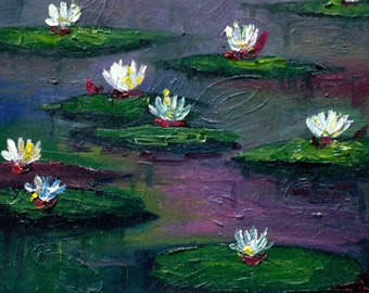 Water Lilies and Lily Pads