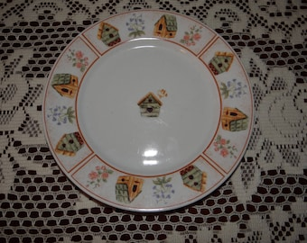 Gibson Design Salad Dessert Plate