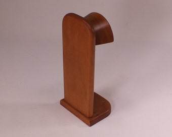 Headphone Stand -  Universally Compatible way to store and display your headphones - hp-1-ch-msn rts