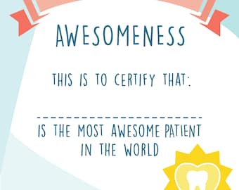 Dad award certificate best dad award father day sign best certificate of awesomeness best patient certificate award certificate children certificate personalized certificate yadclub Gallery