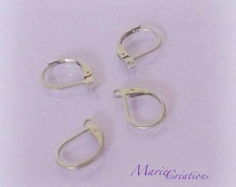 Stud Earrings / stainless steel - set of 5 & 10 pairs
