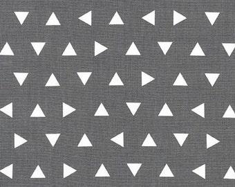 Remix Grey Triangles by Ann Kelle for Robert Kaufman