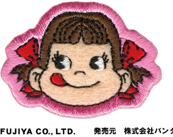 DIY Peko Iron on Embroidery Patch Applique from Japan FJ02