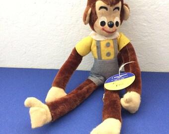 Jocko Jr. Vintage Dream Pet Dreampet R. Dakin Monkey Chimp Doll Stuffed Animal