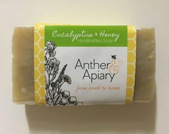 Eucalyptus & Honey Handcrafted Soap