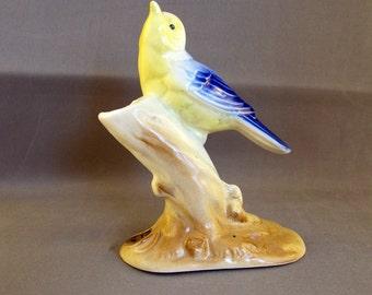Vintage Bird Royal Copley Warbler