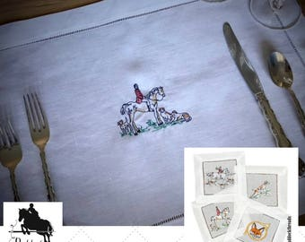 Fox Hunting Placemats