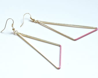 The Egyptian earrings