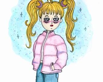 SailorMoon - Drawing original Artwork
