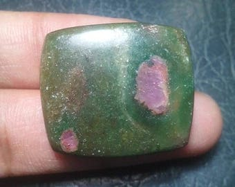 Ruby Zoisite Cabochon