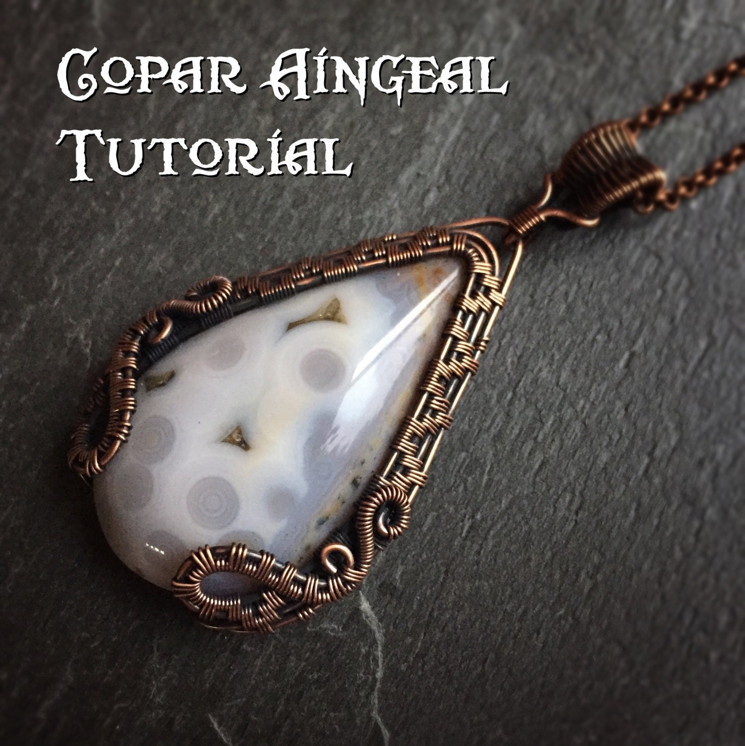 Tutorial dragon gate pendant wire wrapping jewelry zoom baditri Images