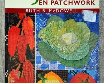 Vegetables book patchwork