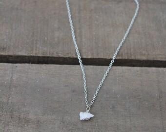 Quartz Gemstone Necklace