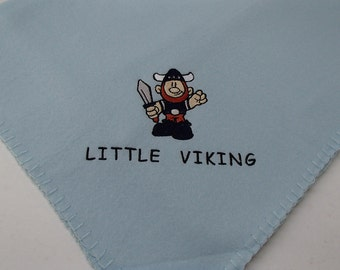 Little Viking - Fleece Baby Blanket #IB21LBL