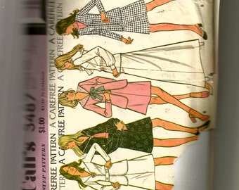 McCall's Misses' Jacket, Skirt, and Blouse Recommended for Knits Pattern 3487