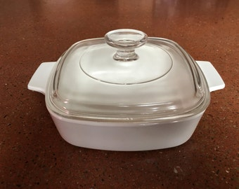 Vintage Covered Saucepan by Corning