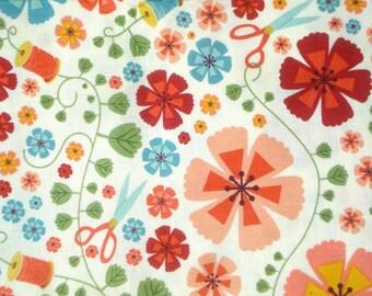 Cosmo Cricket Tailor Made Sewing Garden Andover fabrics Fat Quarter or more