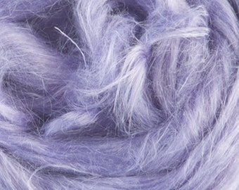 Lavender Hemp One Once for Felting and Spinning