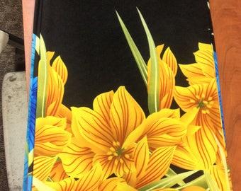 Koshibo Woven Fabric Rose Bouquet (Yellow Gold)