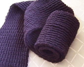 Men's Double Ribbed Scarf - Pattern PDF