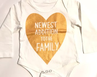 Newest addition to the family Onesie 6-12 MONTHS