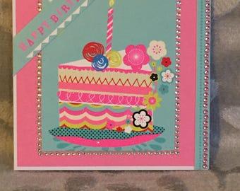 Birthday Cake Birthday Card