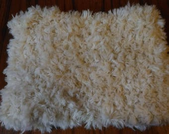 CHEAP - off white alpaca and wool snood
