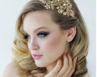 ROSALIE - Gold Hair Piece
