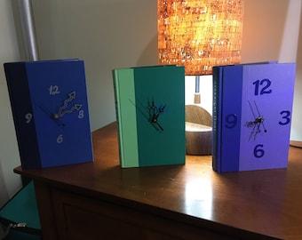 Standing Book Clocks