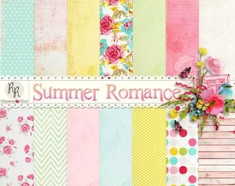 Summer Romance Paper Set