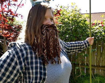 Brown Cosplay Beard