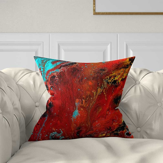 Decorative Pillows Red Pillow Cover Teal Red Throw Pillows Enchanting Red Decorative Pillows For Couch