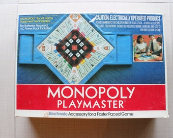 Monopoly Playmaster Parker Bros 1982