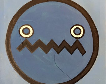 Blue ME with Circle Eyes (2018)