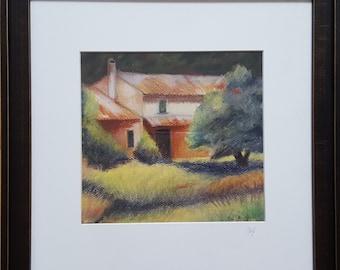 Farmhouse in Pastels