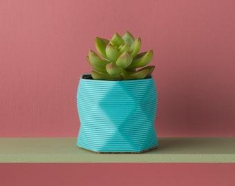 Pot / Planter / Desk Tidy - 3D Printed. For Cacti/Cactus, Succulents, Houseplants