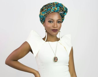 African clothing head wrap, African fabric head wrap, African headwrap, African head wrap, Head scarf, African scarf, African print scarf