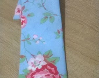 Men's and Boys Blue Floral  ties